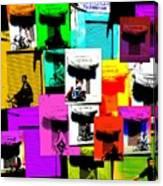 Marrakech Traffic Scenes Canvas Print