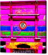 Marrakech Truck Canvas Print