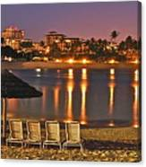 Marriott Lagoon Canvas Print