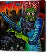 Mars Attacks 2 Canvas Print