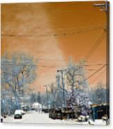 Mars Goggles Canvas Print