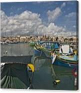Marsaxlokk Canvas Print