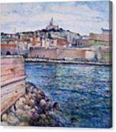 Marseille Pierre Plats Provence France Cm 2004  Canvas Print