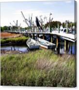 Marsh Harbor 2 Canvas Print