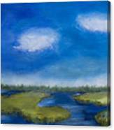 Marsh In The Low Country Canvas Print