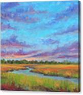 Marsh view from Morris Island - Folly Beach Canvas Print