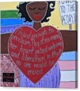 Marsha P Johnson Canvas Print