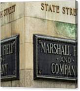 Marshal Field And Company Canvas Print