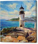 Marshal Point Light Canvas Print