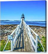 Marshall Point Light Station Canvas Print