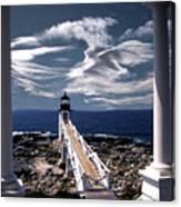 Marshall Point Lighthouse Maine Canvas Print