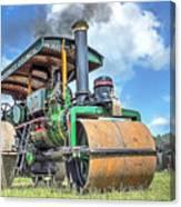 Marshall Steam Roller Canvas Print