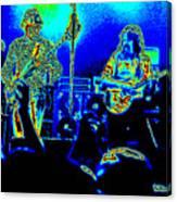 Marshall Tucker Winterland 1975 #18 In Special Cosmicolors Canvas Print