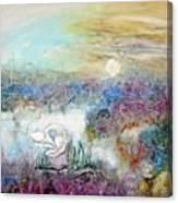 Marshland Ballet Canvas Print