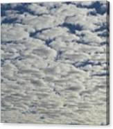 Marshmallow Sky Canvas Print