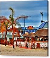 Martells On The Beach - Jersey Shore Canvas Print