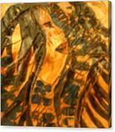 Martha And Babe - Tile Canvas Print