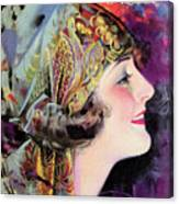 Martha Mansfield, Photoplay July 1920 Canvas Print