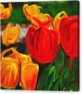 Martha's Garden Canvas Print