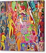 Marti Gras Canvas Print