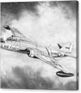 Martin B-57 Intruder  Canvas Print