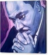 Martin -forever Loved Canvas Print