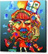 Martin-hardy-hula-girl1 Canvas Print