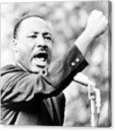 Martin Luther King, Jr., Gesturing Canvas Print