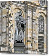 Martin Luther Monument Dresden Canvas Print