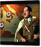 Martin Wuttke As Adolf Hitler Number One Inglourious Basterds 2009 Color Added 2016 Canvas Print