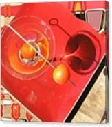 Martini Fantazy Canvas Print