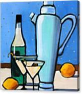 Martini Night Canvas Print