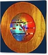 Martini Porthole Canvas Print