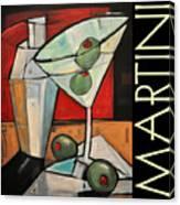 Martini Poster Canvas Print