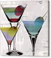 Martini Prism Canvas Print