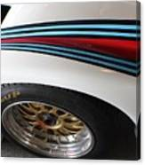 Martini Racing Lines Canvas Print