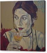 Martini Women Canvas Print