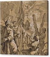 Martyrdom Of Saint Andrew Canvas Print