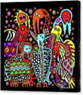 Maruvian Bird Gallery Canvas Print