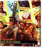 Marvel Zombies Canvas Print