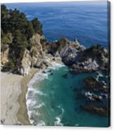 Marvelous Mcway Falls Canvas Print