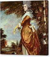 Mary Amelia First Marchioness Of Salisbury Canvas Print