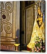 Mary And Baby Jesus In Palermo Canvas Print