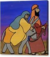 Mary And Joseph  Canvas Print