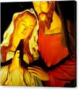 Mary And Joseph Canvas Print