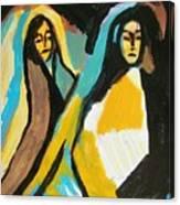 Mary And Josephine Canvas Print