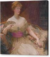 Mary Frances Mackenzie Canvas Print