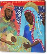 Mary Habe Boy Chile Canvas Print