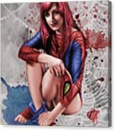 Mary Jane Parker Canvas Print