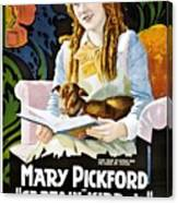 Mary Pickford In Captain Kidd Jr Canvas Print